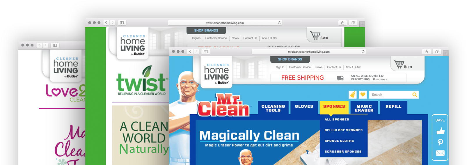 Cleaner Home Living Multistore Screens